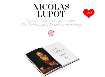 Nicolas Lupot : l'âge d'or de la lutherie française !